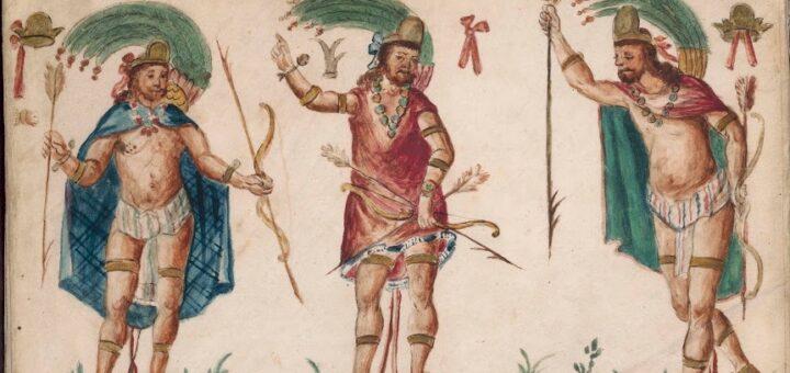 Anonyme, Généalogie de Diego de Mendoza Austria Moctezuma,