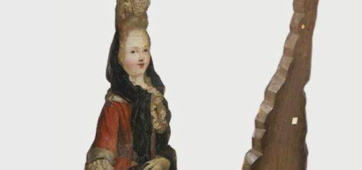 étude et conservation-restauration d'une figure en bois peinte à l'huile