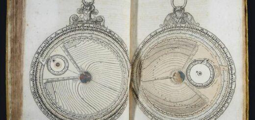 Etude et conservation-restauration de deux éditions d'un traité à volvelles de Jacques Bassantin sur la pratique des mouvements célestes