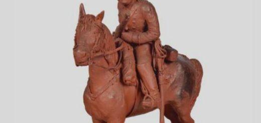 deux statuettes en cire (1906 et 1900 ; Paris, Musée de l'armée)